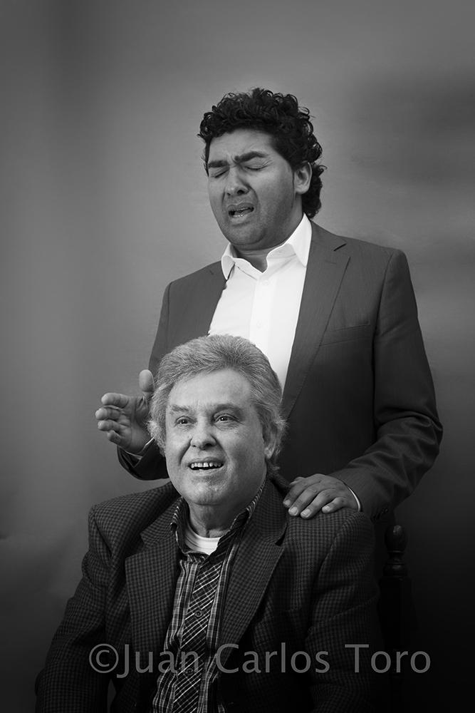 Curro Malena y Luis Malena