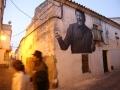Luis el Zambo en calle liebre